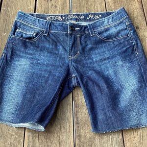 ESPRIT 94107 low rise denim Shorts.  Size 10